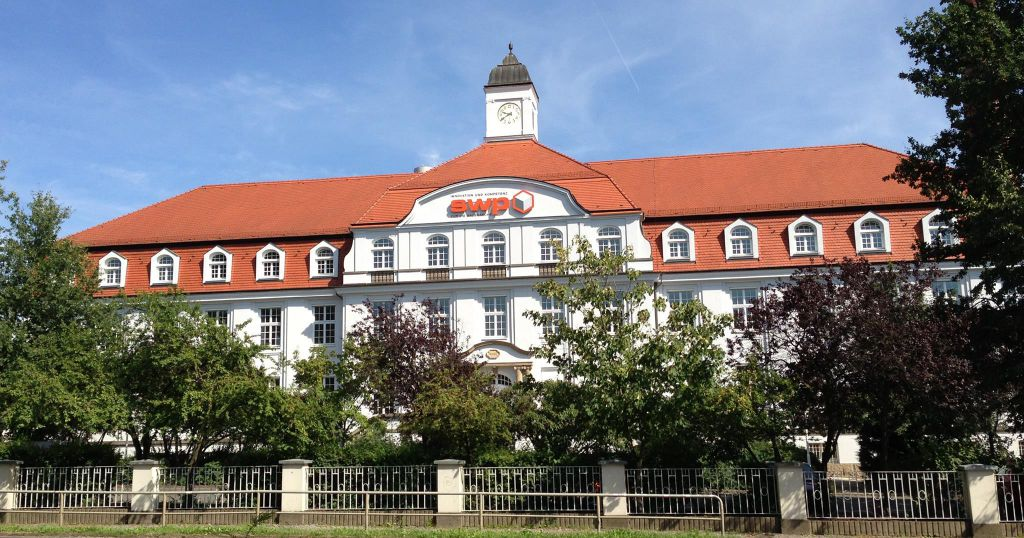 Das Gebäude des Softwareparadies in Dresden